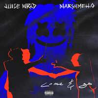 Постер трека Juice WRLD, Marshmello - Come & Go